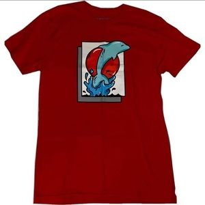 Red Pink Dolphin T-Shirt
